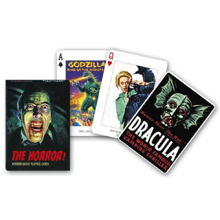 Piatnik Horror Movies Playing Cards